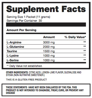 amino-acid-nutritional-supplement-facts