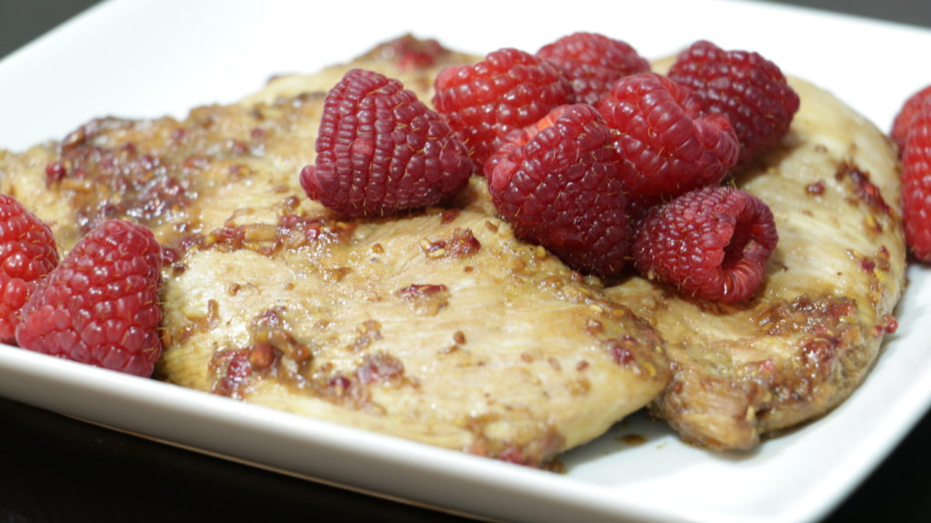 Forte Recipe: Raspberry Chicken