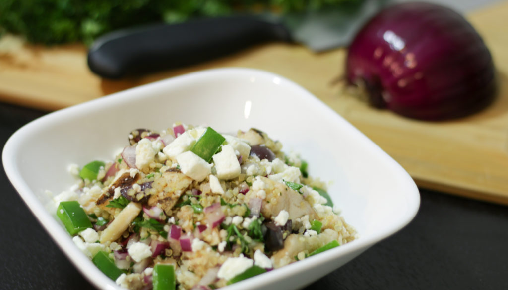 Forte Recipe: Greek Quinoa Bowl