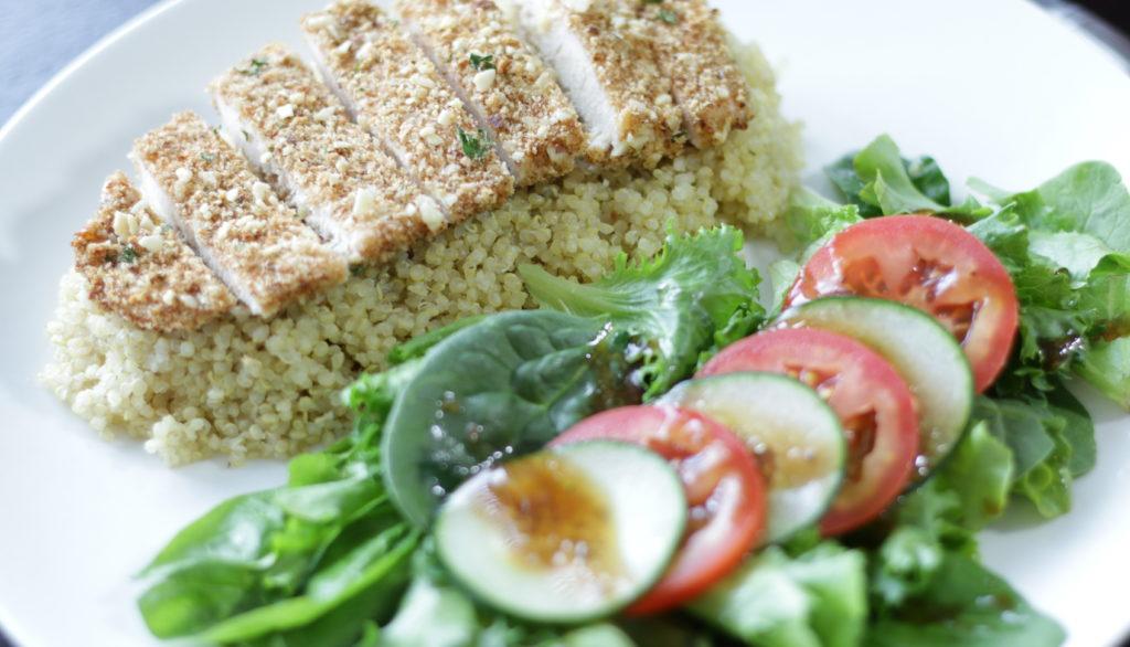 Forte Recipe: Almond Chicken