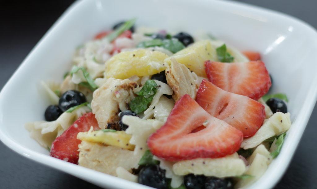Forte Recipe: Chicken & Fruit Pasta Salad