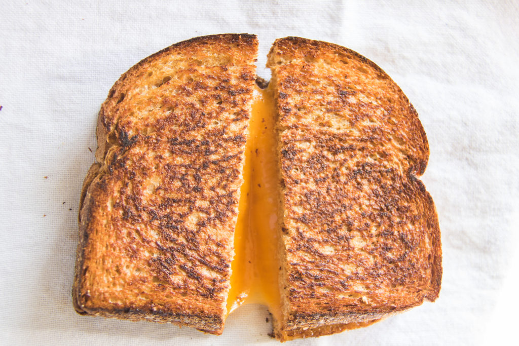 Forte Recipe: Grilled Cheese Sandwich