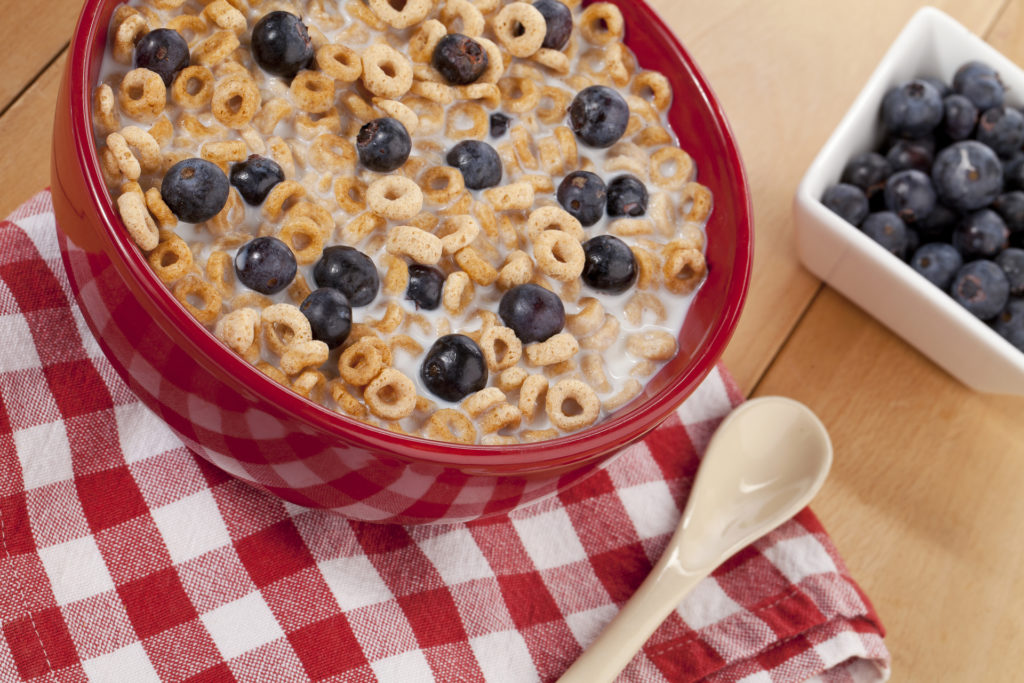 Cheerios and Blueberries