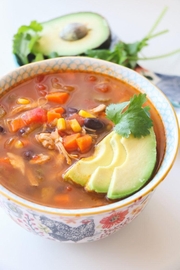 Better Than Whole Foods Chicken Tortilla Soup